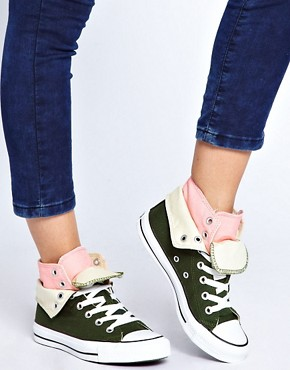 Image 2 ofConverse All Star Two Fold High Top Trainers