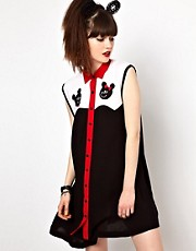 Lazy Oaf Mr And Mrs Shirt Dress