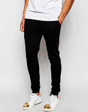 ASOS Super Skinny Joggers In Lightweight Fabric