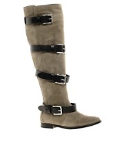 IRO Over the Knee Boot with Multi Strap Detail
