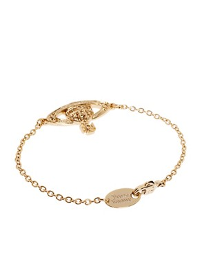 Image 2 ofVivienne Westwood Mini Bas Relief Bracelet