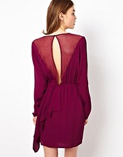 By Zoe Dress with Open Mesh Back