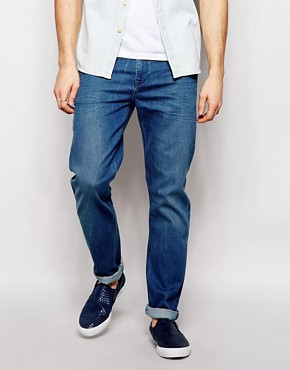 ASOS Skinny Jeans In Light Acid Wash