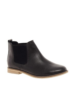 Image 1 ofASOS ABACUS Leather Chelsea Ankle Boots