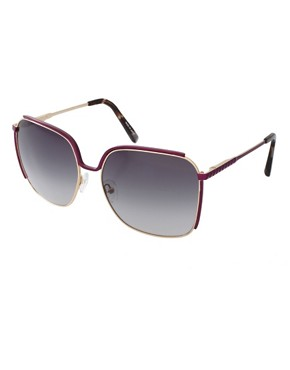 Image 1 ofMatthew Williamson Retro Square Sunglasses