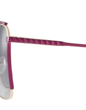 Image 4 ofMatthew Williamson Retro Square Sunglasses