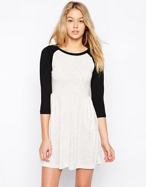 Vila Vifluid Long Sleeve Skater Dress