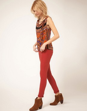 Image 4 of7 For All Mankind Gwenevere Skinny Jean In Single Jersey