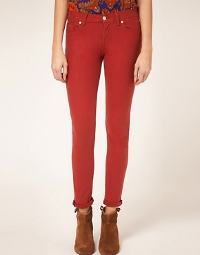 Image 1 of7 For All Mankind Gwenevere Skinny Jean In Single Jersey
