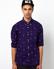 Stussy Shirt Long Sleeve Bandanana Print