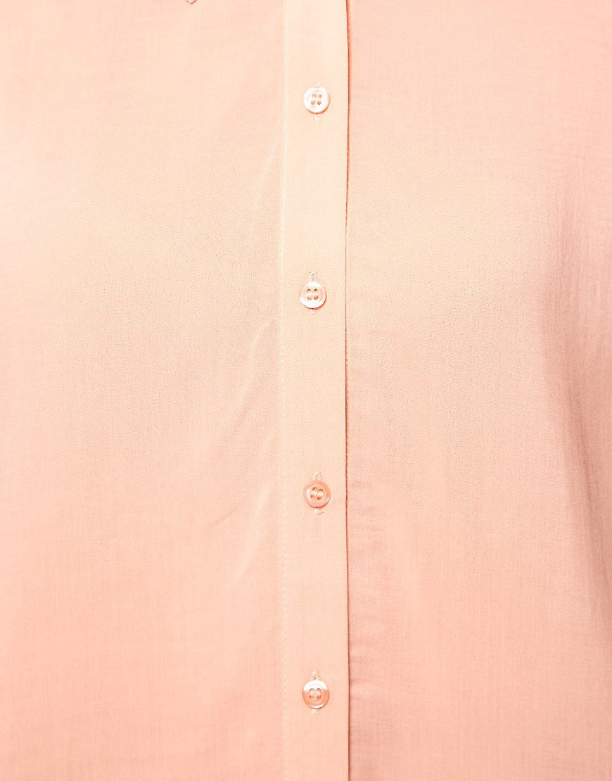 Image 3 of ASOS Blouse With Folded Collar
