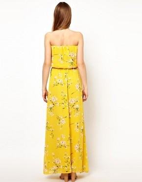 Image 2 ofJarlo Belted Maxi Dress in Floral Print