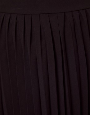 Image 3 ofASOS Midi Skirt with Pleats