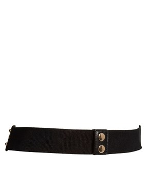 Image 3 ofASOS Brocade Metal Plate Waist Belt