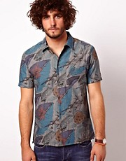 Paul Smith Jeans Shirt with Floral Print