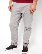 Chinos tapered de sarga fina de Vivienne Westwood Anglomania for Lee