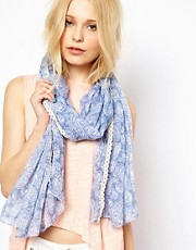 New Look Washed Cowgirl Paisley Scarf