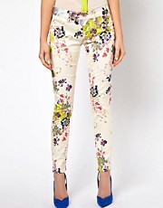 Ted Baker Skinny Jeans in Summer Bloom Print