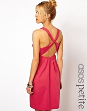 ASOS PETITE Exclusive Dress With Twist Back