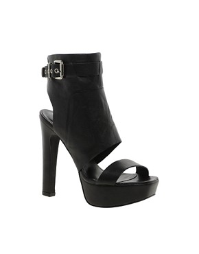 Image 1 ofRiver Island Shola Block Heel Platform Shoes