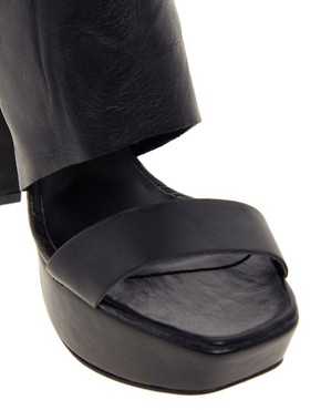 Image 3 ofRiver Island Shola Block Heel Platform Shoes