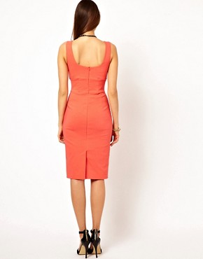 Image 2 ofVesper Pencil Dress with Tie Front