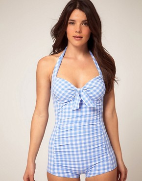 Image 1 ofSeafolly Sophia One Piece Suit With Boy Leg
