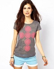Pieces - T-shirt stampata