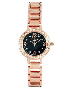 Image 1 ofLipsy Diamante Dial Bracelet Watch
