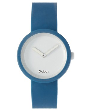 Image 1 ofO&#39;Clock Silicon Watch