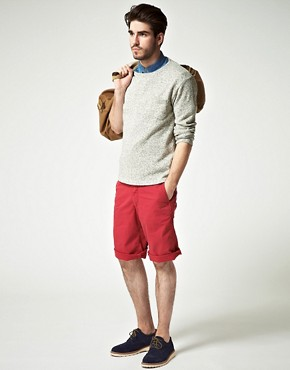 Image 4 ofDrykorn Garment Dyed Chino Short