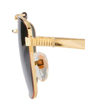 Image 4 ofReclaimed Vintage Clubmaster Sunglasses