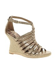 Sandalias de cuero con cua Annabel de Sam Edelman