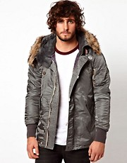 Superdry Flight Parka Jacket