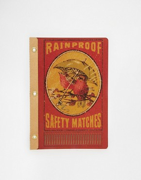 Temerity Jones Rainproof Vintage Matches Notebook