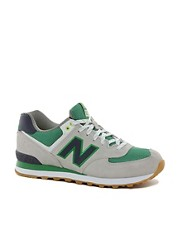 New Balance Exclusive To ASOS 574 Yacht Club Trainers