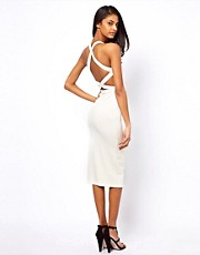 Oh My Love Midi Dress with Back Straps
