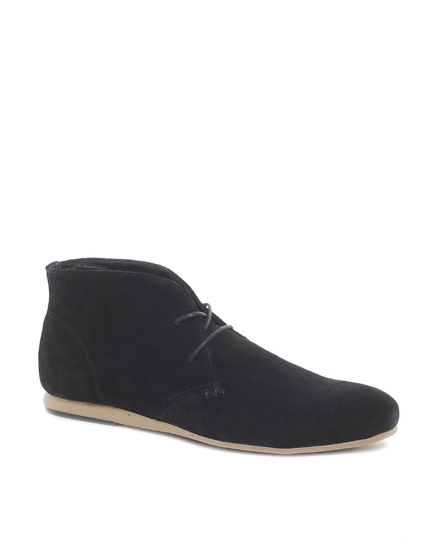 Image 1 of ASOS Chukka Boots in Suede