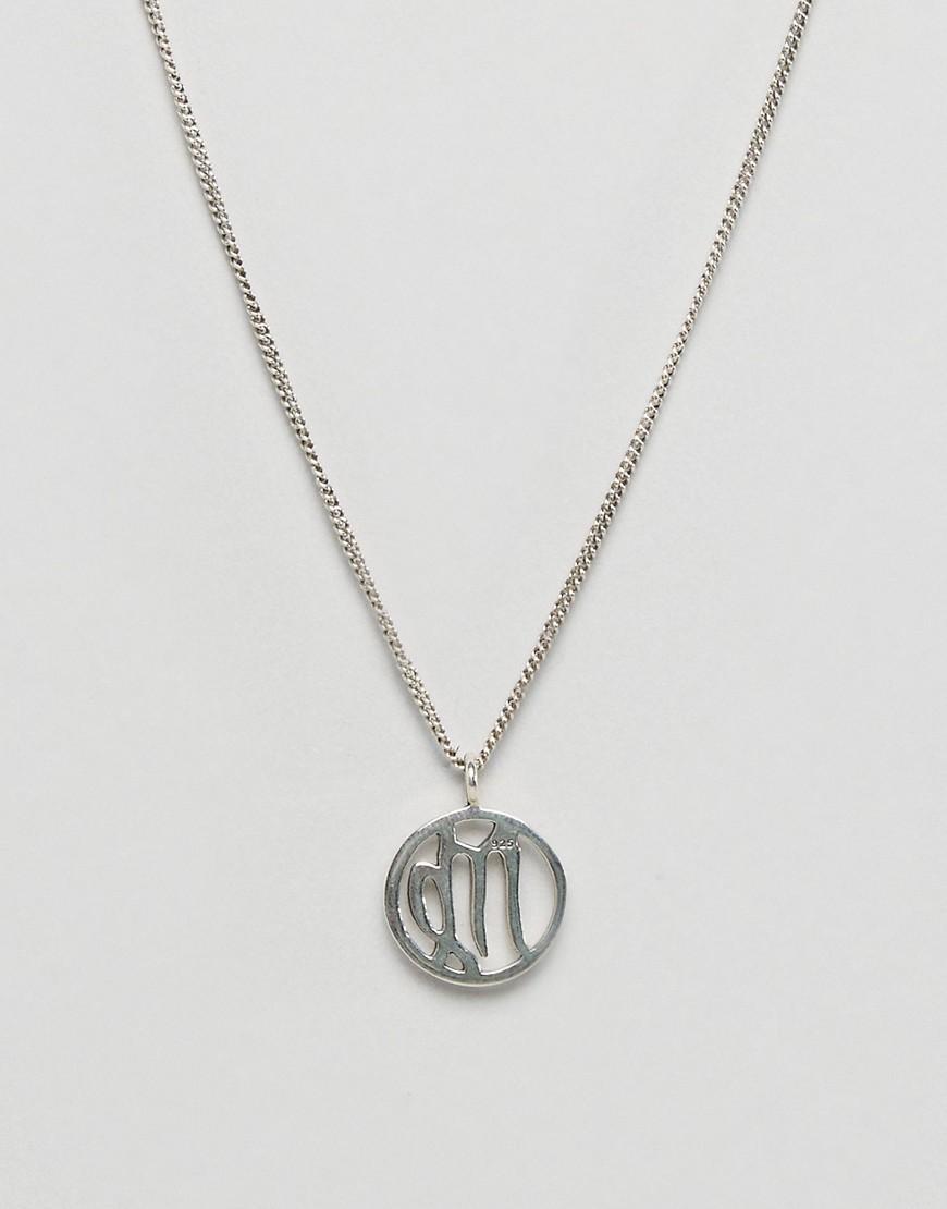 fashionology-sterling-silver-virgo-zodiac-necklace-silver
