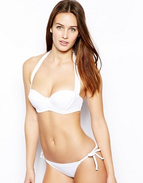 Image 4 ofASOS Mix and Match 50s Halter Padded Bikini Top