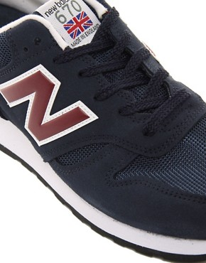Image 2 ofNew Balance Made in England 670 Trainers