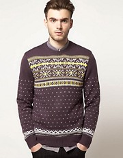 Farah Vintage Fairisle Sweater