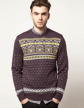 Image 1 ofFarah Vintage Fairisle Jumper