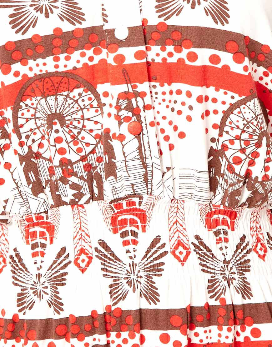 Image 3 ofIvana Helsinki Sleeveless Mini Dress in Dreamcatcher Print