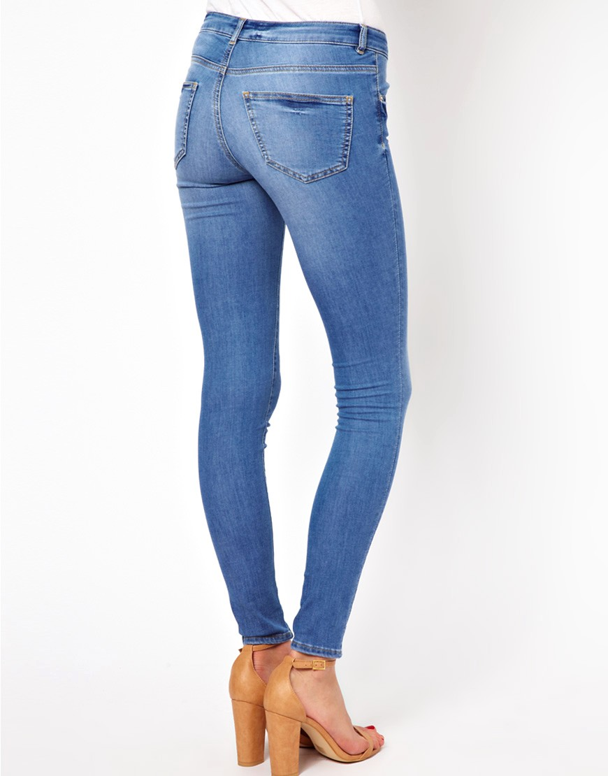Image 2 of Warehouse Supersoft Skinny Jean