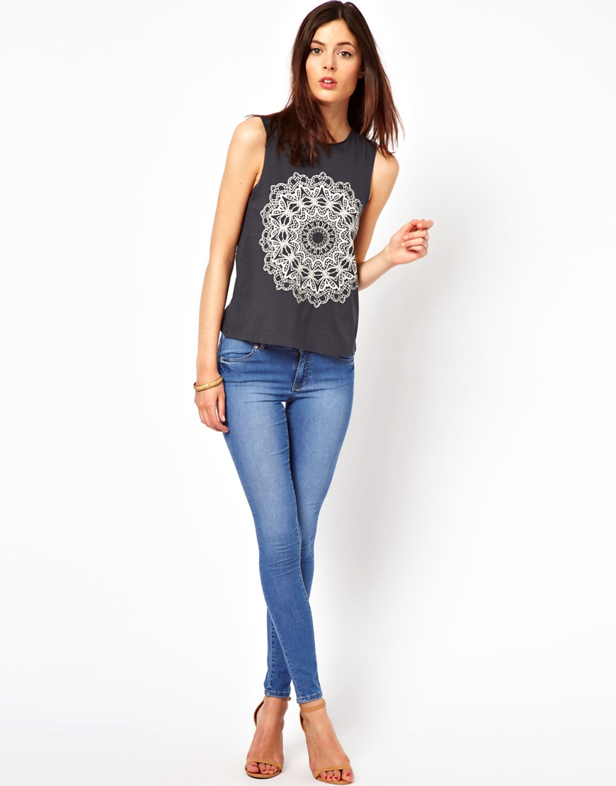 Image 4 of Warehouse Supersoft Skinny Jean