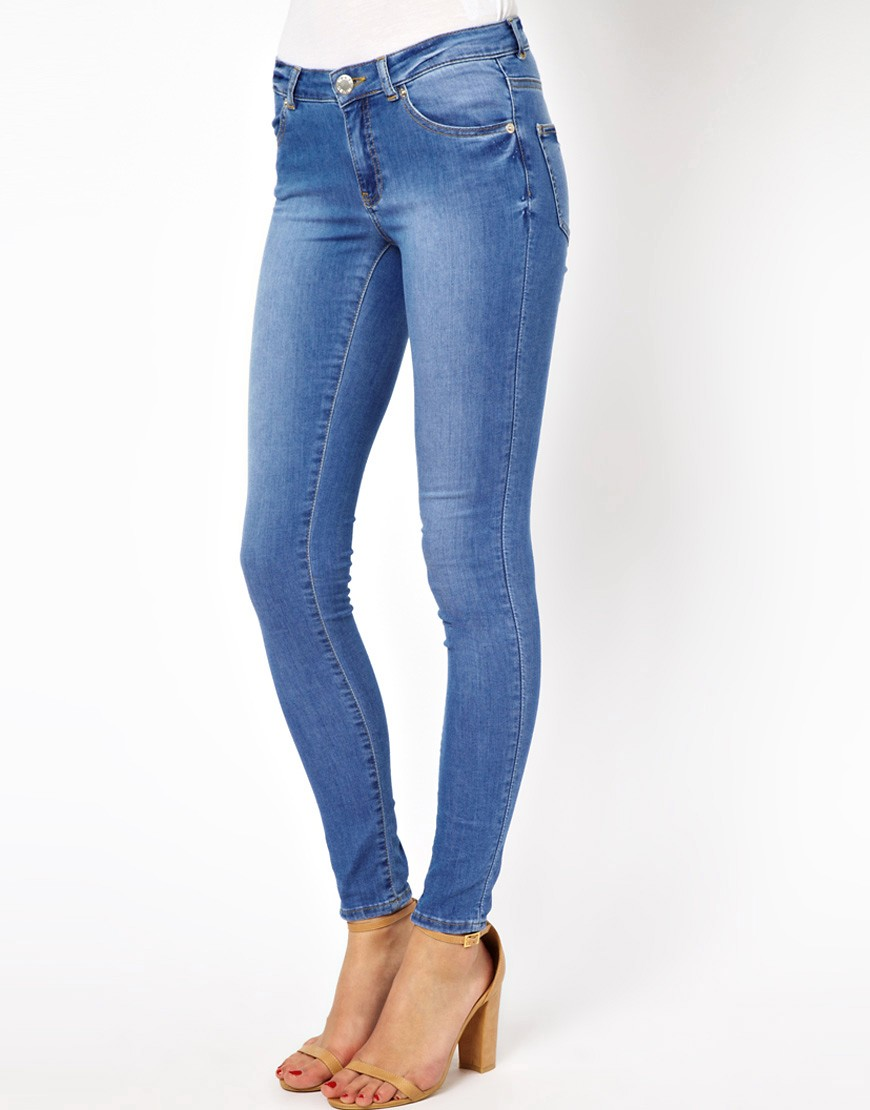 Image 1 of Warehouse Supersoft Skinny Jean