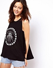 ASOS Swing Vest with Egyptian Eye