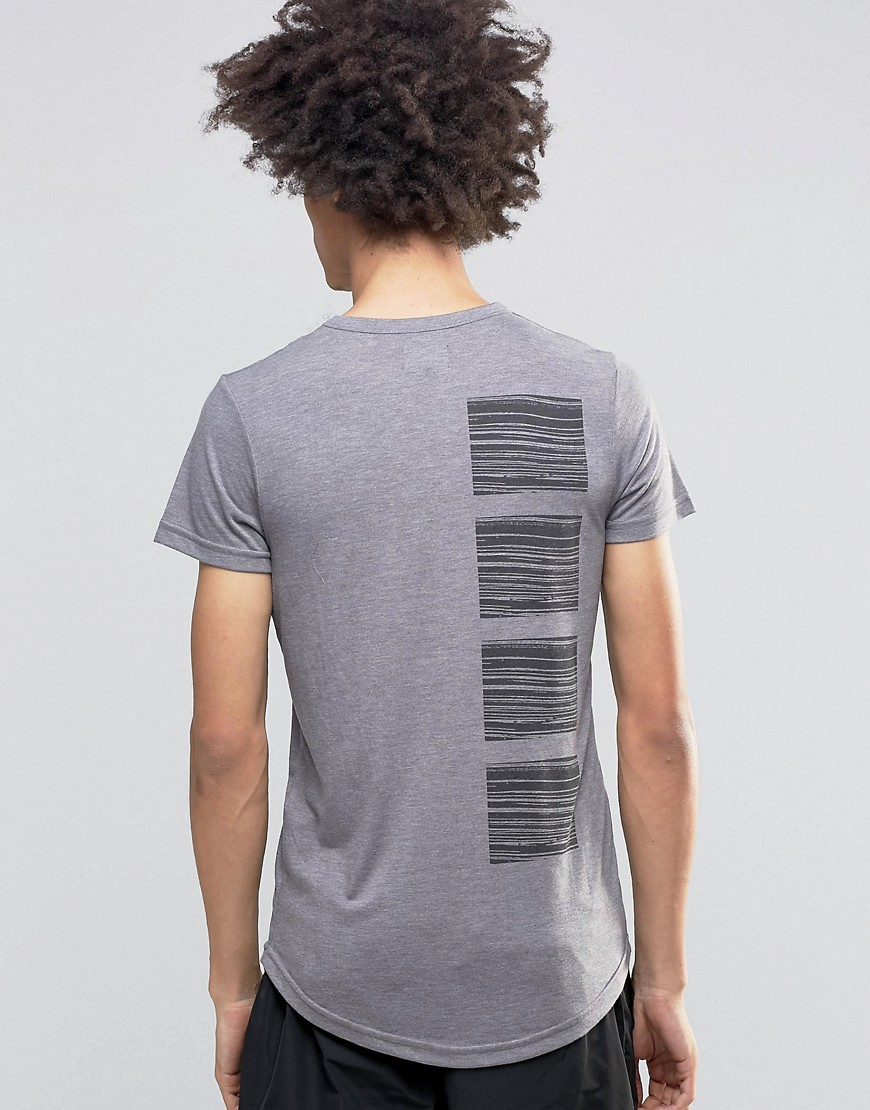 Product photo of Systvm flint tshirt in ash grey