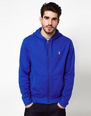 Polo Ralph Lauren Hoodie In Bright Blue